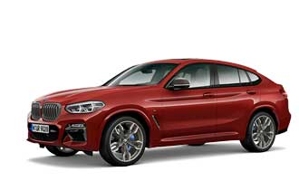 The all-new BMW X4